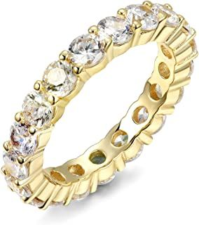 This gorgeous and high quality stackable infinity ring is an affordable amazon find!   #AmazonMustHaves #InfinityRing #AffordableJewelry #RingInspo