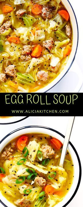 Egg Roll Soup Update Recipes Dinner Recipes Crockpot Delicious Soup Soup Recipes