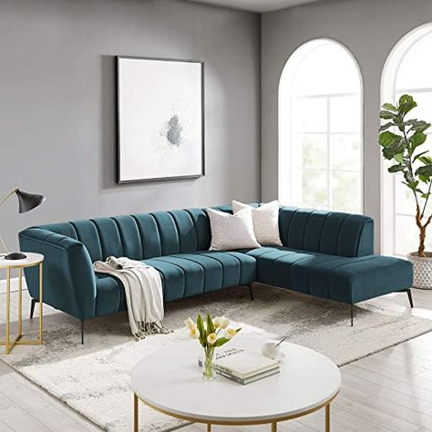 Small Living Rooms, Living Room Modern, Home Living Room, Living Room Decor, Cozy Living, Living Room Sofa Design, Living Room Designs, L Shaped Sofa Designs, Loft Apartment Decorating