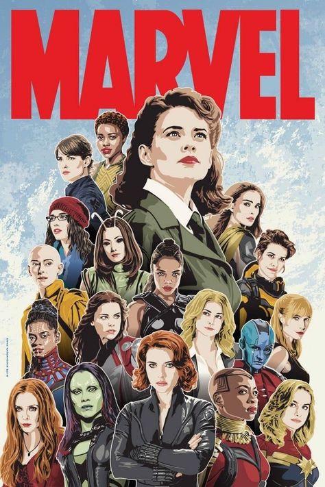 Women of Marvel! #Marvel #InfinityWar #BlackPanther #BlackWidow #Gamora #Nebula #Mantis #ScarletWitch #Wakanda #Shuri #PrincessShuri #Avengers