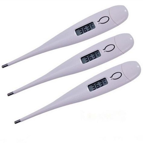 Digital LCD Medical Thermometer Mouth Underarm Rectal Baby Body Temperature Aid