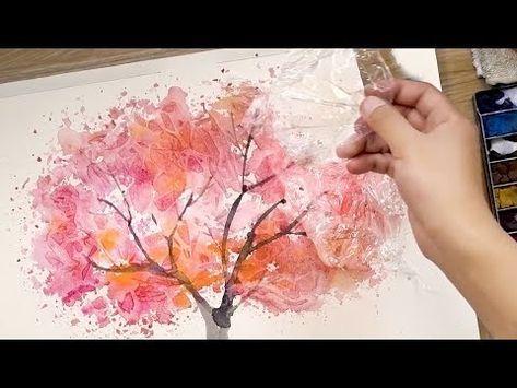 Comment Peindre Des Aquarelles A L Aide De Papier De Cuisson Et De