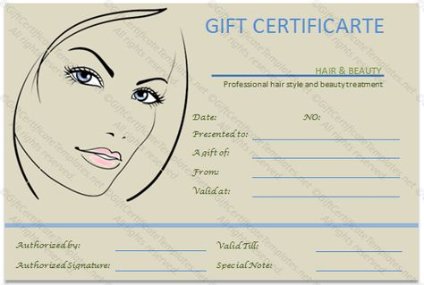 Permalink to The Simple Beauty Spa Gift Certificate Template - money voucher template