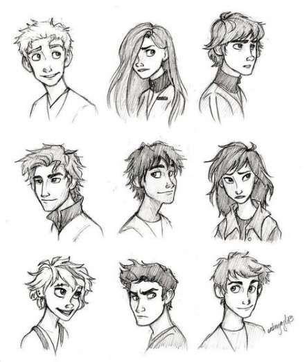 Best Drawing Cartoon Hair Comic Ideas Drawing Cartoon Faces Drawing Cartoon Characters Cartoon Drawings Of People