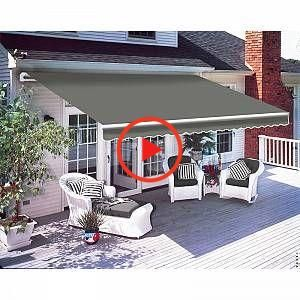 Green Bay Greenbay 2 5 X 2m Manuel Ombrage Patio Pare Soleil Ombre Abri In 2020 Patio Canopy Patio Awning Patio Garden