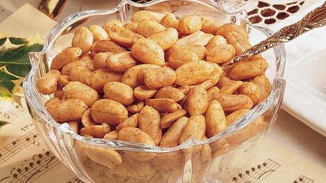 spiced peanuts