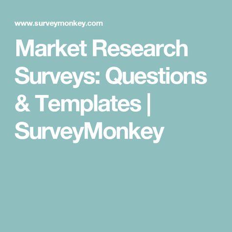 Best  Market Research Surveys Ideas On   Market