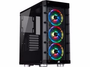Check This Out On Newegg Corsair Crystal Icue 465x Rgb Cc 9011188 Ww Black Computer Case In 2020 Computer Case Atx Computer Tower