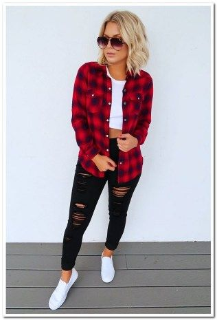36++ Red flannel shirt womens ideas ideas in 2021
