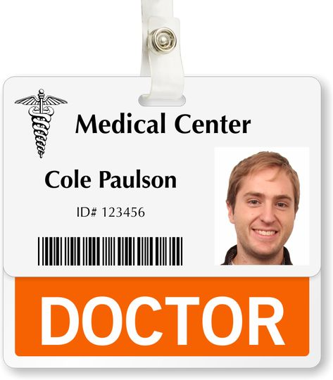 physicians badges - Yahoo Image Search Results RX Pinterest - id badge template
