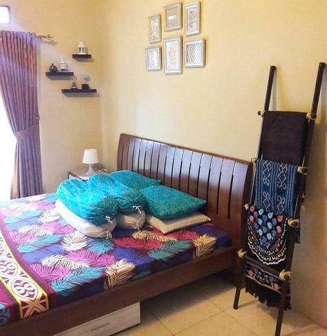 dekorasi kamar tidur minimalis simple keren   dekorasi