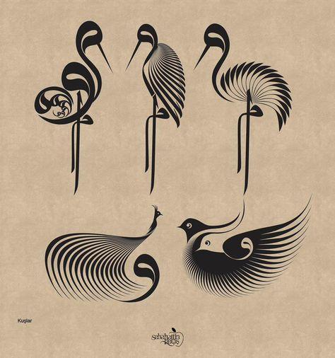 Selahattin Kayış Drawn with calligraphy pen Calligraphy Drawing, Arabic Calligraphy Art, Arabic Art, Calligraphy Alphabet, Turkish Art, Writing Art, Art Nouveau Design, Japanese Art, Stencil