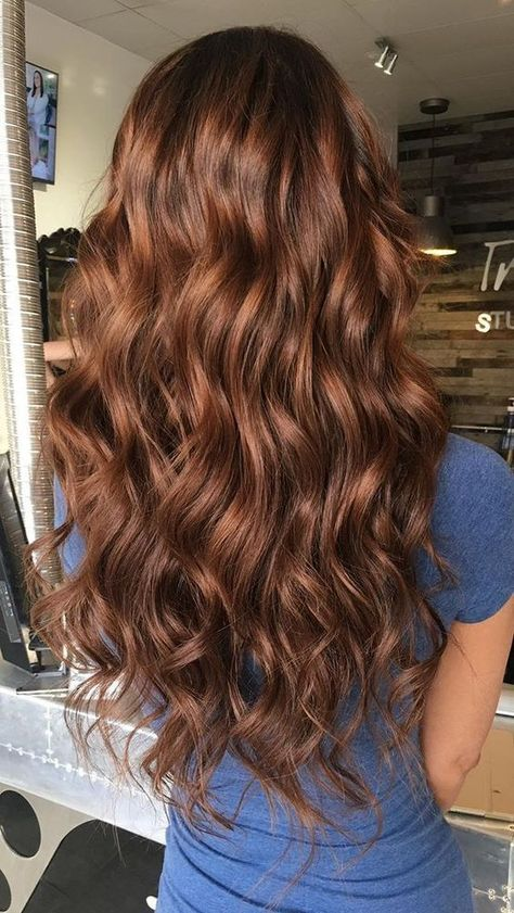 Red Highlights In Brown Hair, Brown Hair Color Shades, Color Red, Brown Colors, Light Brown Hair Colors, Blonde Highlights, Color Highlights, Marron Hair Color, Light Hair Colors