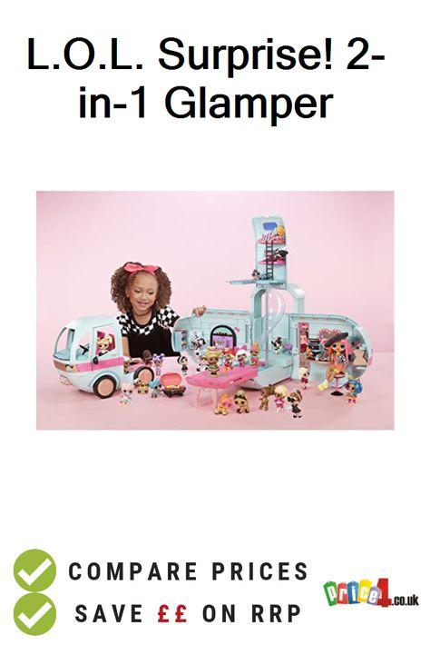 Surprises Multi L.O.L Surprise 2-in-1 Glamper Fashion Camper with 55