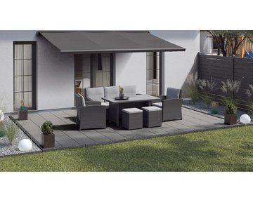 Gehwegplatte Grau 40 Cm X 40 Cm X 5 Cm Kaufen Bei Obi Terassenuberdachung In 2020 Outdoor Furniture Sets Terrace Tiles Modern Garden