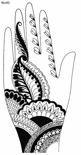 photo about Printable Henna Designs named Pinterest