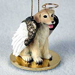 CHOW Red Dog ANGEL Tiny One Ornament Figurine Statue