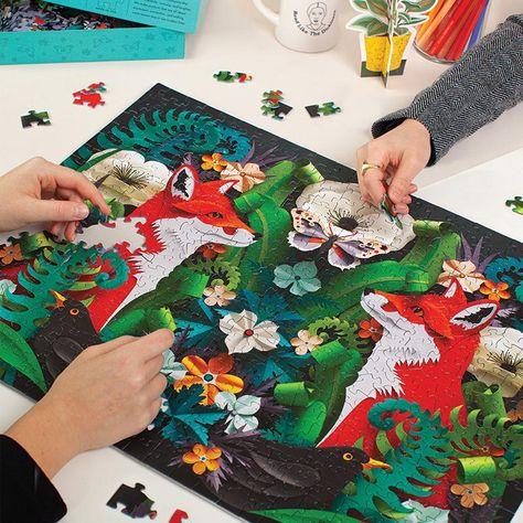 Seltzer Puzzle - Fox Garden