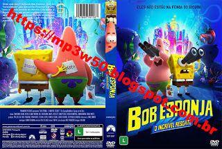 W50 Produções Cds Dvds Blu Ray Bob Esponja O Incrível Resgate Bob Esponja Bob Esponja