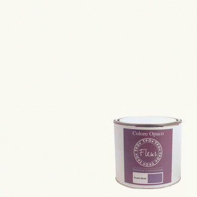 Pittura Murale Fleur 2 5 L Chalk White Prezzo Online Leroy Merlin Colla Per Legno Negozi Di Arredamento Murale