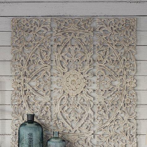 3 Piece Wood Plaque Wall Décor Set