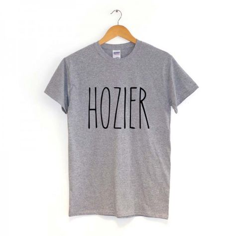 Unisex HOZIER Logo Indie Music Mens Hipster T Shirt