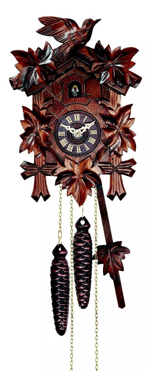"""Coucou. """"L'oiseau""""réf 522 - Coucou authentique de la Forêt Noire - les coucous de la manufacture vuillemin, pendules originales - Vente en ligne d'horloges comtoises, horloges design, horloges coucous"""