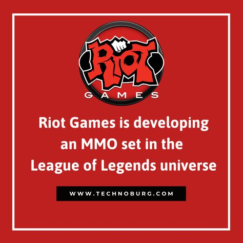 Riot Games new MMORPG!
