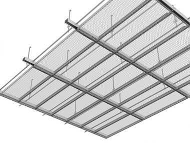 Expanded Metal Ceilings Lindner Group Metal Ceiling Expanded