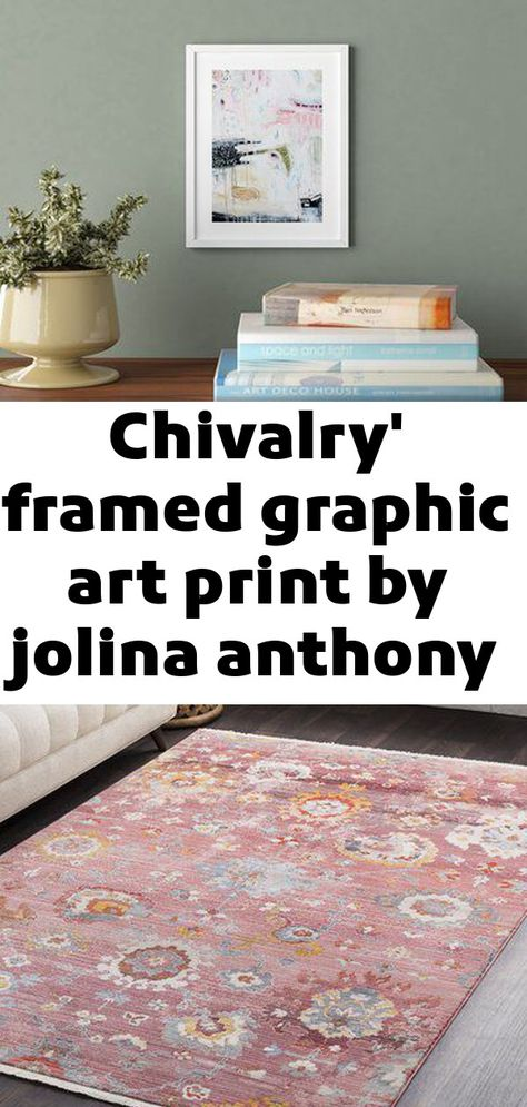 Chivalry' framed graphic art print by jolina anthony - picture frame graphic art print on paper size