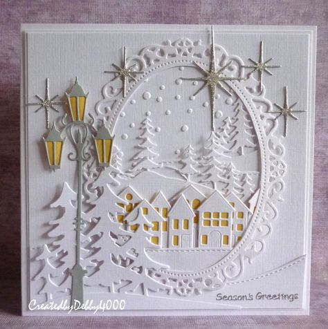 You know I love white cards, this one has a bit of colour but it really was inspired by this card I pinned on Pinterest. It's been...