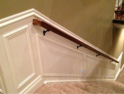 waynes coating stairs picture frame molding My Projects