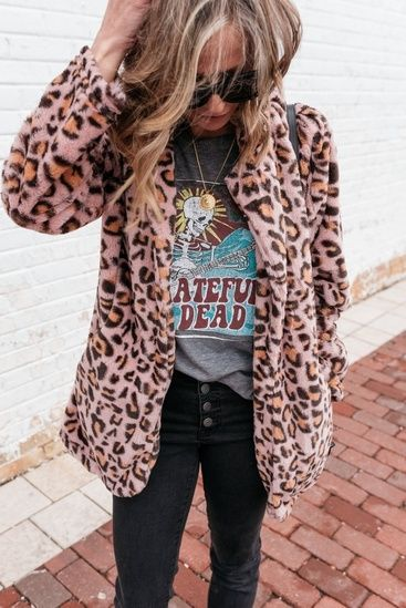 ed794c5497 This $23 leopard coat is a hit! #ShopStyle #MyShopStyle ...