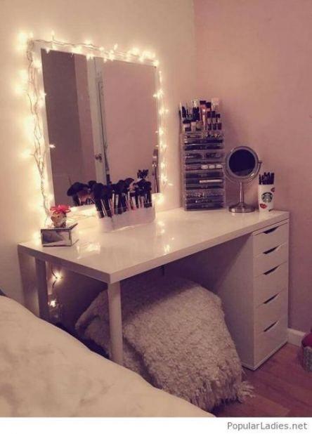 49 Trendy Ideas Makeup Table Vanity Small Drawers Diy Vanity Mirror Bedroom Vanity Beauty Room