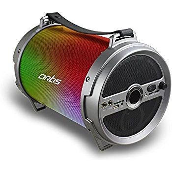artis wireless portable bluetooth speaker