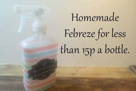 #ThriftyThursday - Homemade Febreze for under 20p a bottle.... | The Diary of a Frugal Family