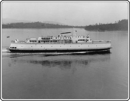 Salt Spring Island MV Island Princess BC Canada Ship Photo 1957-9