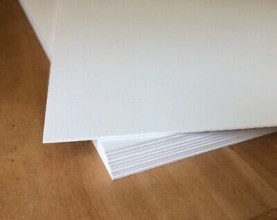 10 Sheets 12 X 12 X 1mm Sintra Pvc White Plastic Board In 2020 Plastic Board Pvc Board 100 Sheets