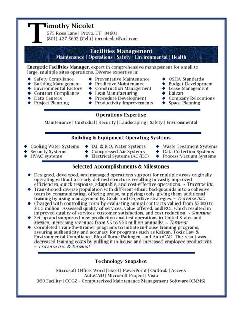 nice Make the Most Magnificent Business Manager Resume for - construction management agreement