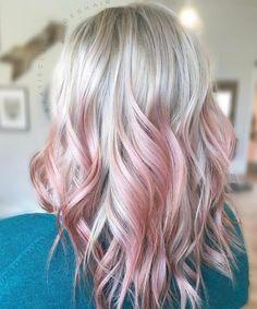 Image Result For Pink Tips Blonde Hair Pink Ombre Hair Pink Blonde Hair Pink Hair