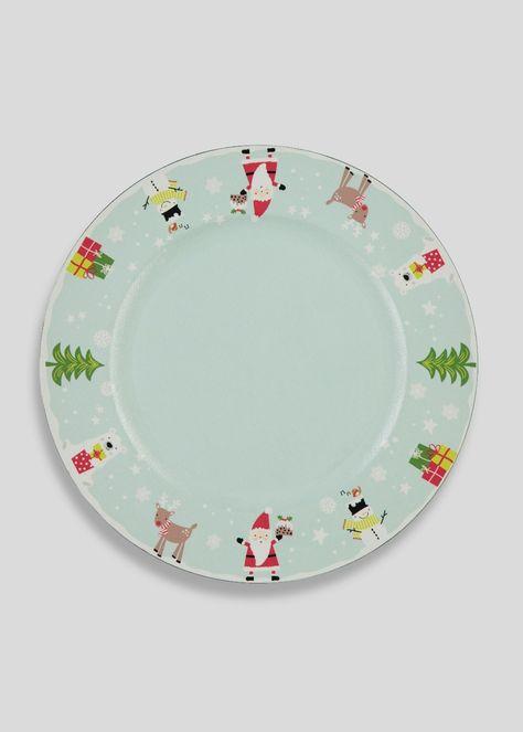 Christmas Shop Christmas Dining Setting Christmas Plates Shop Decoration