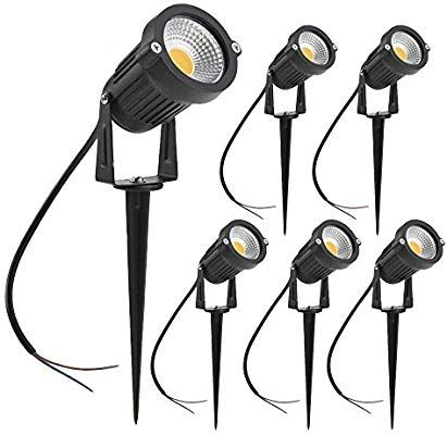 Amazon Com Zuckeo 5w Led Landscape Spotlight 12v 24v Low Voltage Garden Light Cob Outdoor Decorative Light Landscape Lights Low Vo Landscape Spotlights Outdoor Decorative Lights Led Garden Lights
