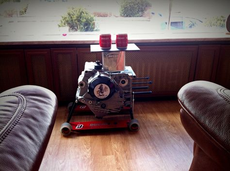 My Ducati Testastretta Engine Housing Coffee Table This Engine