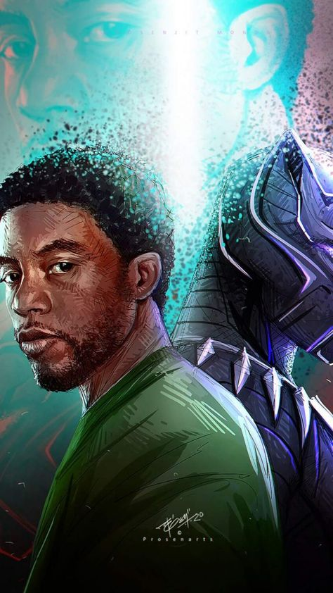 Black Panther RIP - IPhone Wallpapers