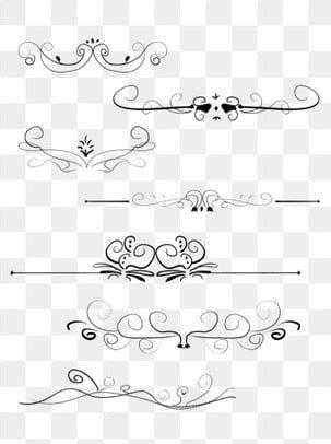 European Border Pattern Dividing Line Commonly Used Retro Commercial Elements European Border Pattern Dividing Line Png Transparent Clipart Image And Psd Fil Border Pattern Clip Art Retro