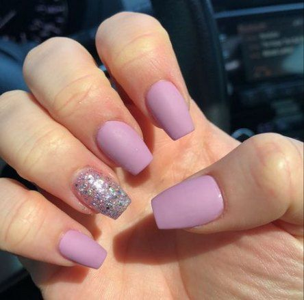 53 Trendy Nails Shape Coffin Short Winter Nails Pretty Nail