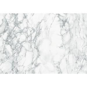 D C Fix 26 In X 78 In Marble White Self Adhesive Vinyl Film For Furniture And Door Renovation Decoration F3468031 The Home Depot Grey Marble Contact Paper Marble