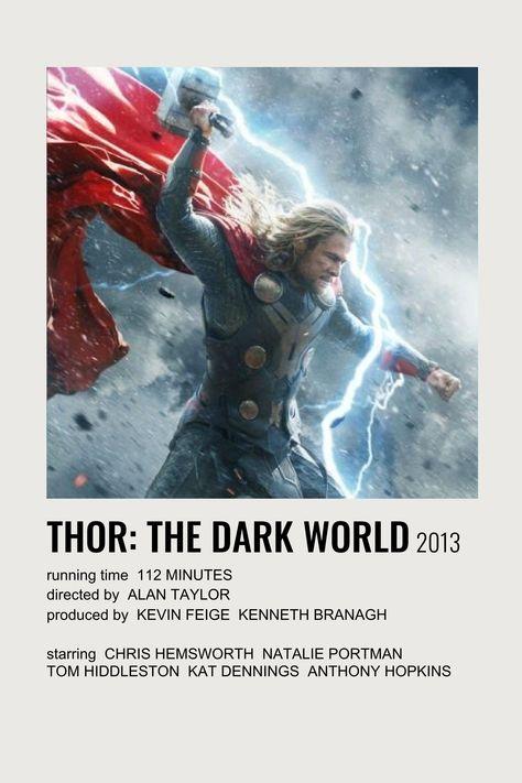 thor: the dark world polaroid film poster