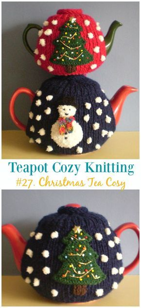Christmas Tea Cosy Free Knitting Pattern Teapot Cozy Free Knitting Patterns Christmas Knitting Patterns Crochet Tea Cosy Free Pattern Knitted Tea Cosies