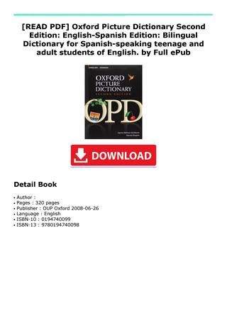 Full Dictionary Pdf